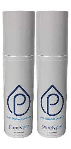Purefypro Disinfectant Spray (4oz, 2pk) - Kills 99.9999% Norovirus,...