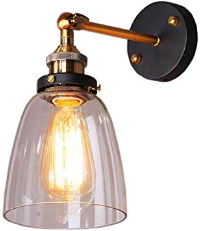 Vintage Kronleuchter Wandleuchte Bell Typ Glaswandlampe Retro Wandlampe Glaslampe Wandlampe Spiegelfront Schlafzimmerlampe