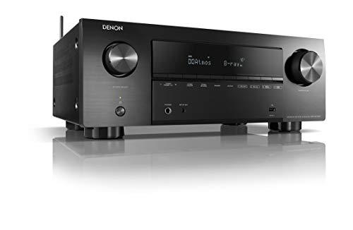 Denon AVR-X2700H Receptor AV de 7.2 canales, amplificador de alta fidelidad, compatible...