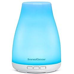 professional InnoGear Oil Diffuser, Ultra Quiet Essential Oil Diffuser Aromatherapy Diffuser Ultrasound …