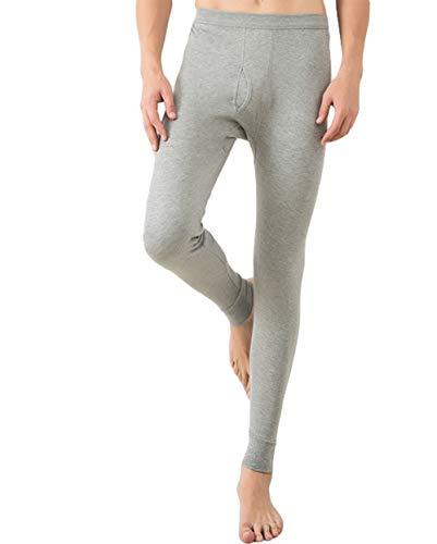 Icegrey - Pantalones térmicos para Hombre Gris Claro XL