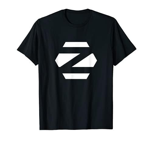 Linux Zorin OS tee con Logo Blanco Open Source Os Camiseta