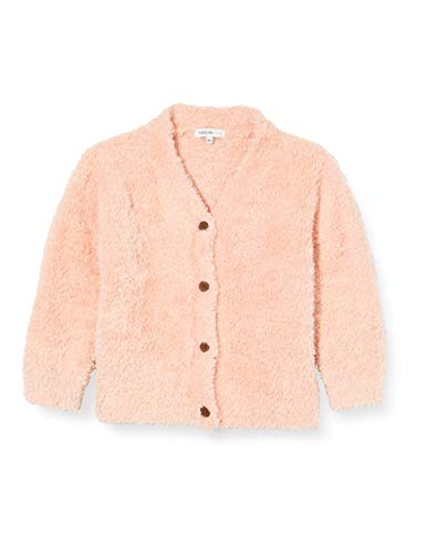 Noppies Baby-Mädchen G Cardigan LS St.Lucia Strickjacke, Cameo Rose-P588, 80