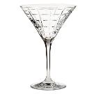 Library Hand-Cut Martini Glass | Pottery Barn