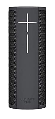 Ultimate Ears Megablast Portable Wi-Fi/Bluetooth Speaker with Hands-Free Amazon Alexa Voice Control (Waterproof) with Charging Dock - Graphite Black