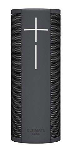 Ultimate Ears MegaBlast Super Portable Wi-Fi Bluetooth Speaker with Alexa Built-in Black Graphite - (Renewed)