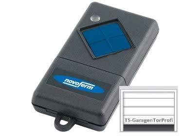 Novoferm Handsender Mini-Novotron 401. Multibit. Originaler 1-Kanal Handsender mit 433 MHz. +++INKL. CRISPO Schoko-Kaffeelinsen zum PROBIEREN+++