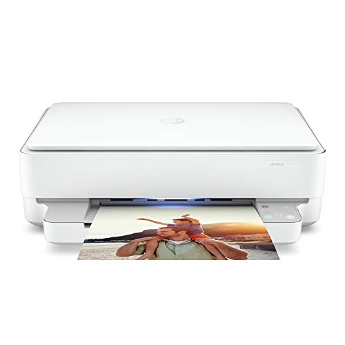 HP Envy 6000 Series Wireless All-in-One Color Inkjet Printer- Instant Ink Ready - Mobile Print, Copy, Scan, Photo for Home Office - 1200 x 1200 dpi, Borderless Auto 2-Sided Printing, Bluetooth 5.0