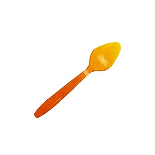 B&W 15 Cuillères Tonic - Plastique - Orange