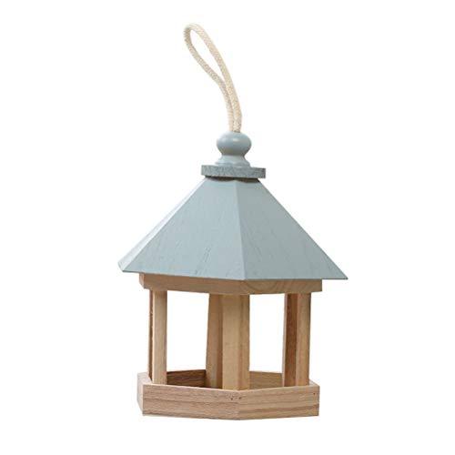 Urisgo Mangiatoia per Uccelli in Legno per la Decorazione di Giardini all'aperto Ideale per Decorazione Giardino