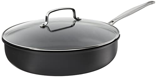 Deep Fry Pan with Cover, 12-Inch