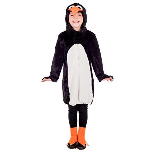 Fun Shack Negro Pingüino Disfraz para Niños y Niñas - M
