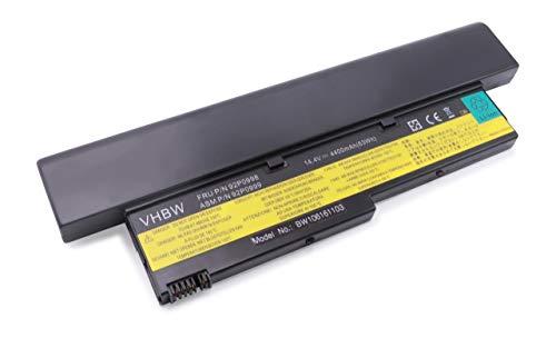 Batterie LI-ION 4400mAh 14.4V Noir Compatible pour IBM Lenovo Thinkpad X40 / X41 / X 40 41 remplace 92P0998 / 92P0999 / 92P1000 / 92P1002