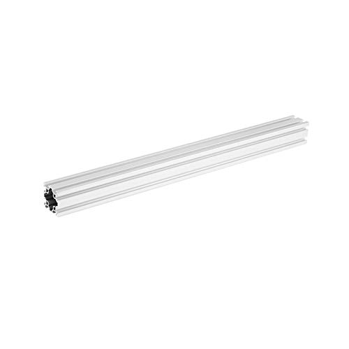QWXZ Slide 500mm Length 4040 Double T-Slot Aluminum Profiles Extrusion Frame Based on 2020 For CNC 3D Printers Plasma Lasers Automation accessories