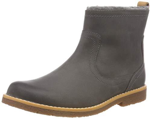 Clarks Mädchen Comet Frost Chelsea Boots, Grau (Grey Leather), 29.5 EU