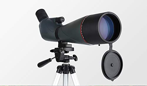Affordable ZXASDC 20-60X80mm High-Powered monocular BAK-4 Prism Zoom Spotting Scope with Tripod Adap...