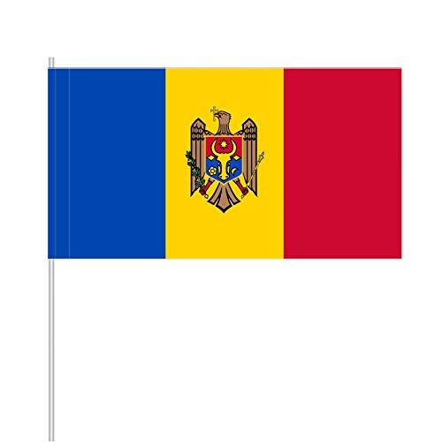 """antrada Papierfähnchen """"Moldawien"""" (25 Stück)"""