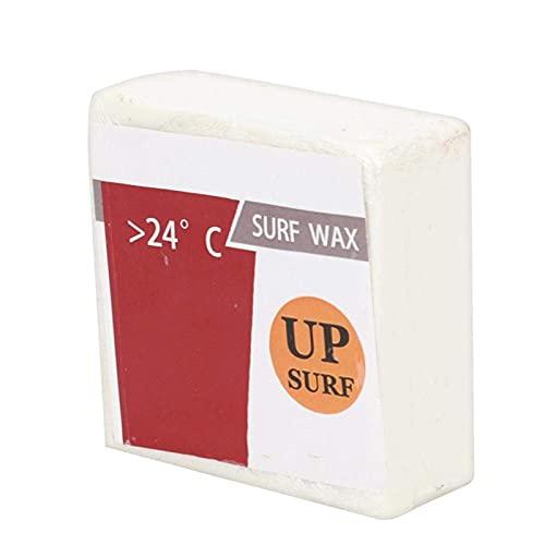 DAUERHAFT Tabla de Surf Cera Antideslizante Cuadrada Transparente Blanco Leche Tamaño pequeño Cera Antideslizante Aumenta la fricción Entre la Tabla de(Tropical Wax)