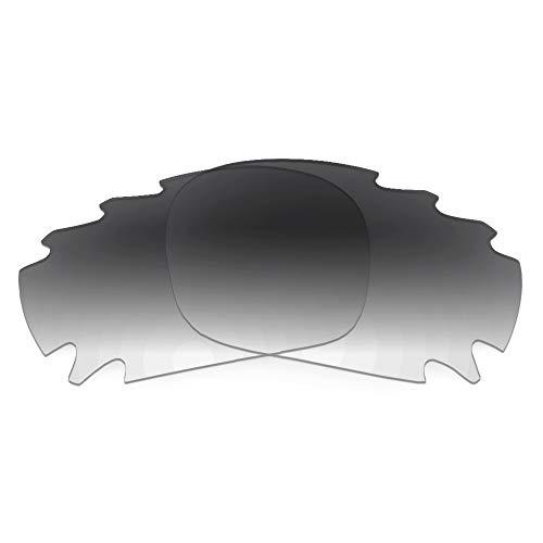 Revant Ersatzgläser für Oakley Racing Jacket Vented - Kompatibel mit für Oakley Racing Jacket Vented, Nichtpolarisiert, Grau Farbverlauf