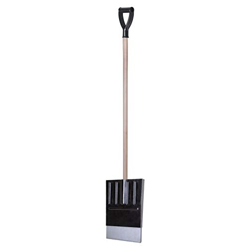 Affordable Snow Shovel Large Deep Head Snow Shovel with Metal Edge Strip Lightweight and Heavy Duty Snow Shovel with Aluminium Shaft 13033 cm Scoop