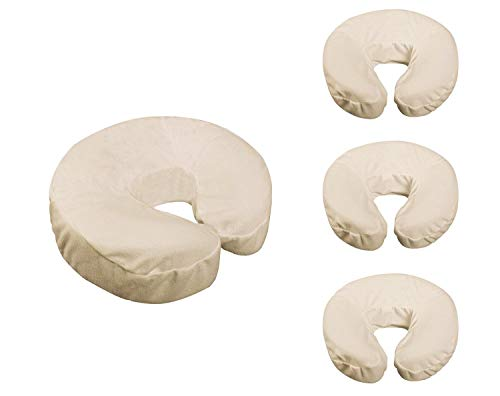 Check Out This Fitted Flannel Face Cradle Covers - 4 Pack by Massage Tables