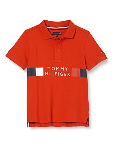Tommy Hilfiger Global Stripe Polo S/S Camisa para Hombre