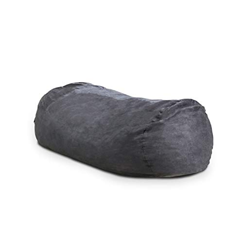 Christopher Knight Home CKH Suede Bean Bag, 8', Black