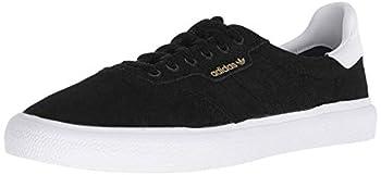 adidas Skateboarding Mens 3MC Black/White/Black Suede 9.5 D US