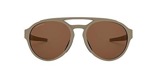 Oakley 0OO9421 Occhiali da Sole, Multicolore (Matte Terrain Tan), 58 Uomo