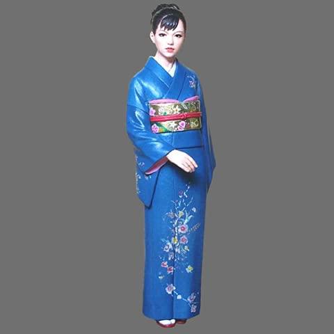 PANGCHENG 1/24 Kimono Belle Kit de Resina Figura GK Tema Humano japonés Realidad sin Recubrimiento sin Color