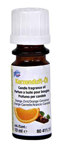 CREARTEC Huile parfumée pour Bougies, 10 ML Orange/Cannelle