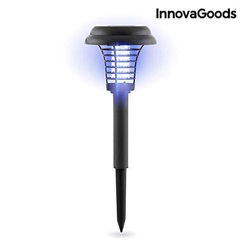 Innovagoods Sl-700 Lámpara Solar Antimosquitos para Jardín, Negro