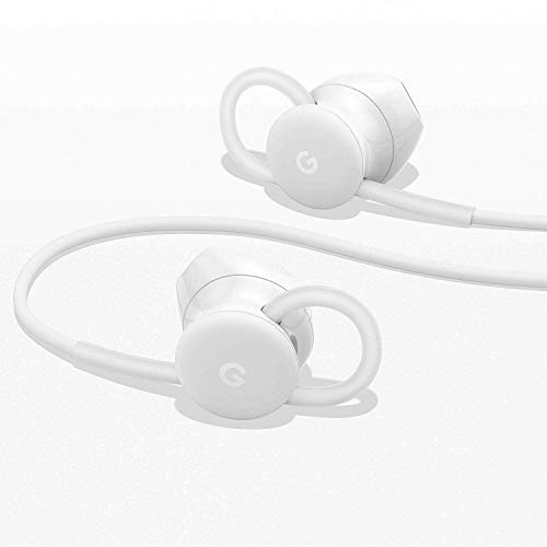 Google USB-C Wired Digital Earbud Headset for Pixel Phones - White 6
