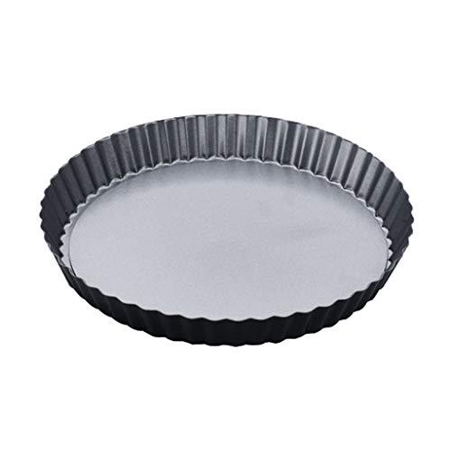 Pizza Horno Redondas Ronda extraíble placa inferior Cacerola de la pizza Pie Pie del crisantemo placa antiadherente Hornada de la pizza Pan Inicio molde de la hornada 4/7 pulgadas de microondas dispon