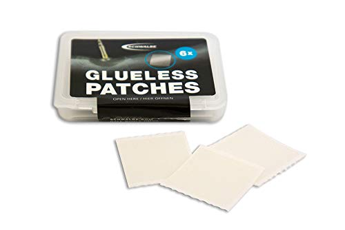 Schwalbe Glueless Patches, Toppe autoadesive Unisex Adulto, Nero, Unica