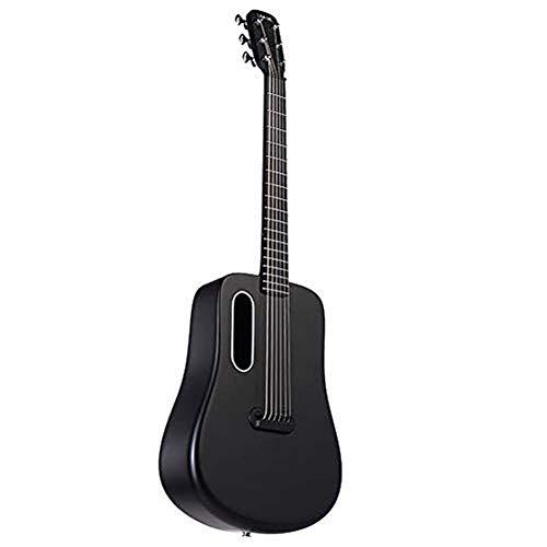 XBSD Akustische Reisegitarre, 6-saitige Naturgitarre, fortschrittliche Kohlefaser, hervorragende Gitarre, geeignet für Shows, Partys, Proben usw.