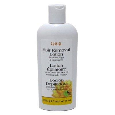 Gigi Hair Removal Lotion 8oz. Arms/Legs/Bikini (3 Pack)