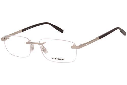 Eyeglasses Montblanc MB 0023 O- 005 Silver /