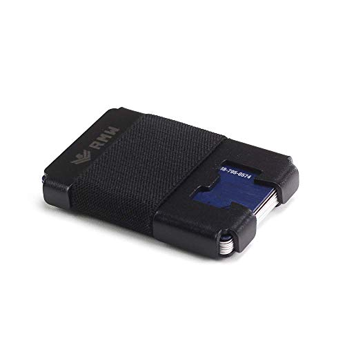 Carbon Fiber Wallet, Slim Minimalist Metal Wallet