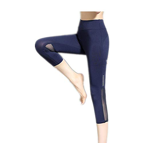 A/N Hip-Lifting High-Waist Outer Wear Gym Sommerlauf Yoga Stretch Eng Anliegende Schnelltrocknende Sporthose Sieben-Neun-Punkte-Hose Damenhose S-2Xl