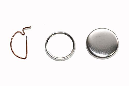 250 Pack - 1 Inch Diameter Pin Butt…