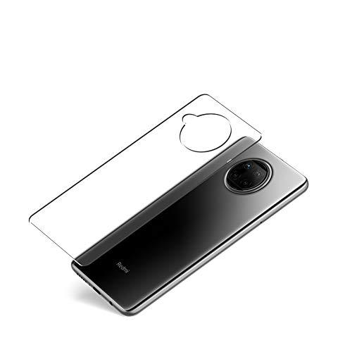 VacFun 2 Piezas Protector de pantalla Posterior, compatible con XIAOMI Redmi Note 9 Pro 5G, Película de Trasera de TPU