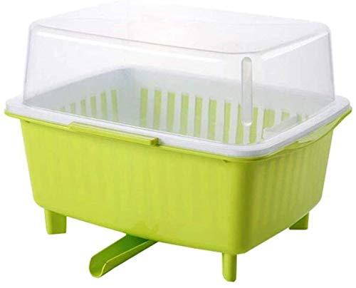 XXT Cuisine plateau d'eau Coupe du plateau de vidange rack Bowl plateau Art de la table Boîte de rangement anti-poussière Coupe Boîte de rangement