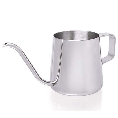 YYUYU Herramienta de té Cocina de Acero Inoxidable Tetera de Agua por Goteo Pot caño Largo Hervidor Taza de café de la Cocina del hogar de la Mano de perforación Pot Escala Caldera