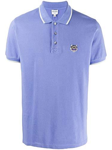 Kenzo Luxury Fashion Herren F665PO0014BA66 Blau Baumwolle Poloshirt | Frühling Sommer 20