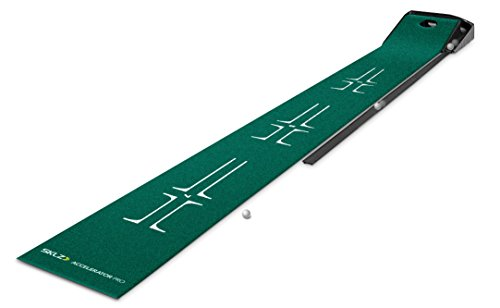 SKLZ Accelerator Pro Ball Return Putting Mat, best indoor putting green, best putting mat