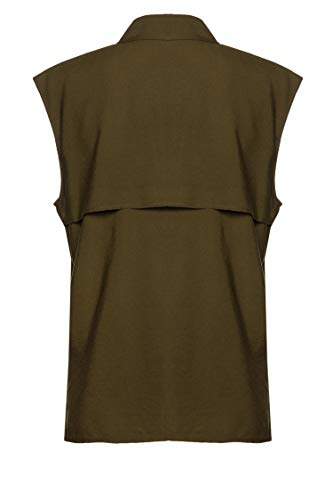 Drykorn Damen Bluse Kamela Grün 38