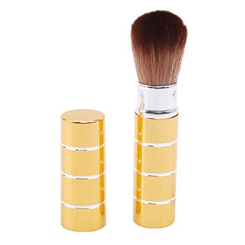 VWH Mini pinceau de maquillage doux blush cosmétique visage poudre brosses outil de beauté(or)