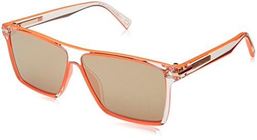 Marc Jacobs Marc 222/S UE MCB 58 Gafas de sol, Naranja (Cory Sld Orng/Gy Grey), Hombre