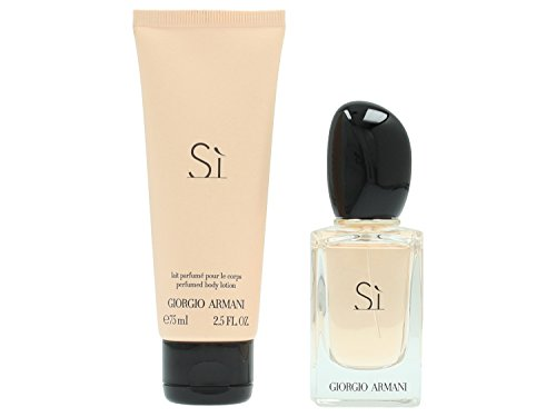 Giorgio Armani Si Set femme/woman, Eau de Parfum Vaporisation/Spray 30 ml, Bodylotion 75 ml, 1er Pack (1 x 105 ml)